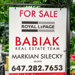 Real Estate for sale Signs 2