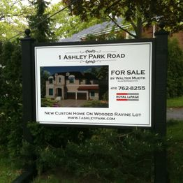 Real Estate Signs 2